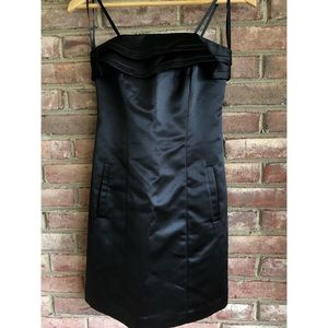NWOT Black BGBG Strapless Dress size 2